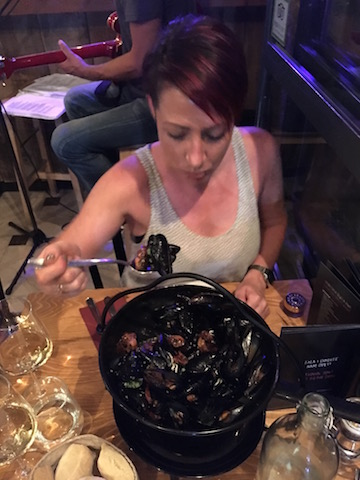 Mussels at Zinfandel, Split