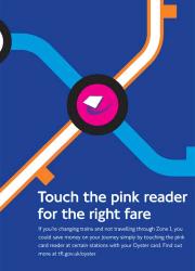 TFL Pink Oyster Reader