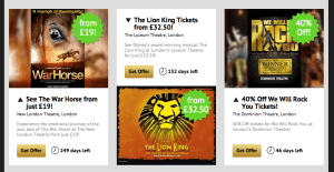 Theatre Tickets Offers