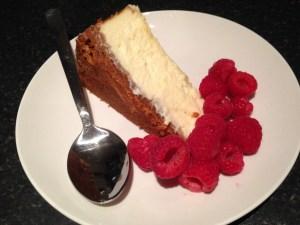 Dan Lepard American Cheesecake Slice