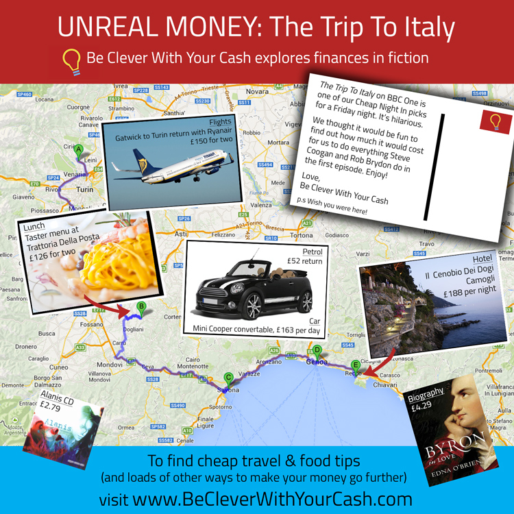 The Trip To Italy infographic