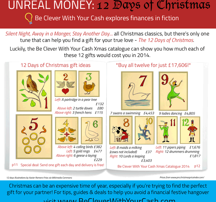 Unreal Money: The 12 Days of Christmas