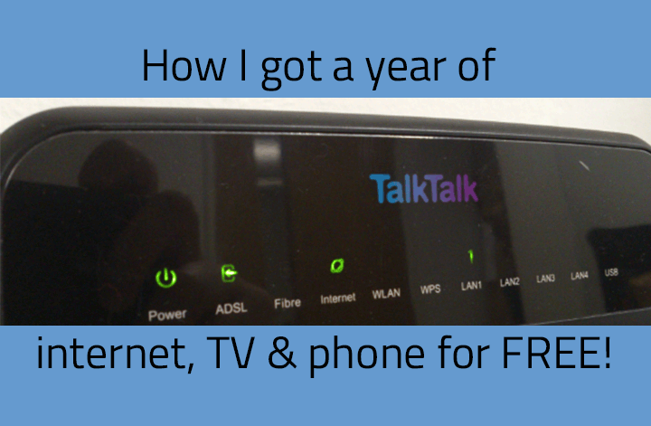 How I got free internet, TV and phone for a year