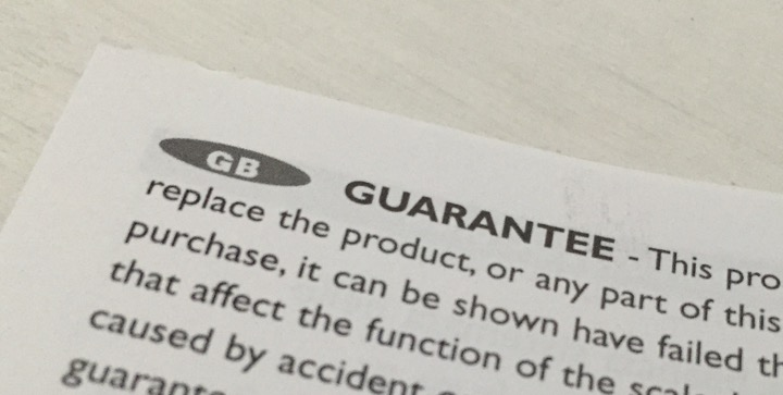 When can you return unwanted or broken goods? Warranties, guarantees and The Sale of Goods Act