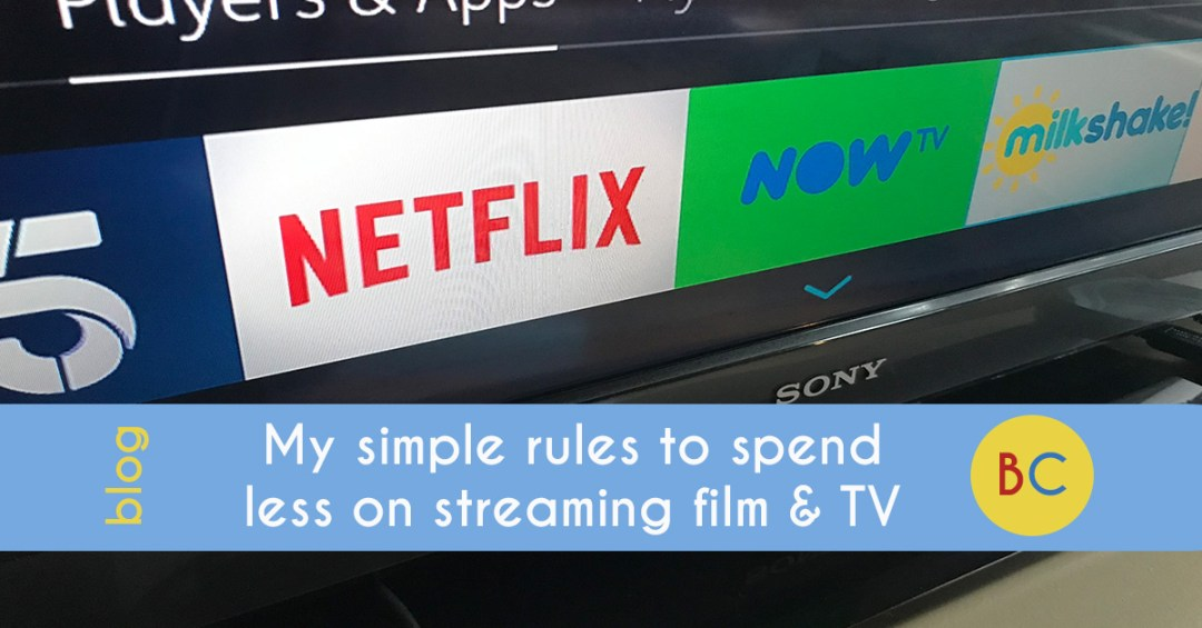 spend less on tv and film streaming