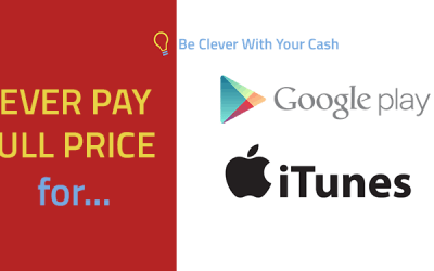 Never pay full price… On iTunes or Google Play