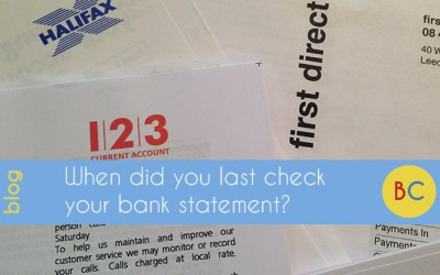 When did you last check your bank statement? Nine things to watch for