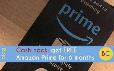 Cash hack: get free Amazon Prime for 6 months