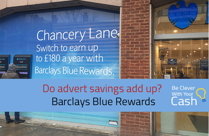 Barclays Blue Rewards: Does the advert add up