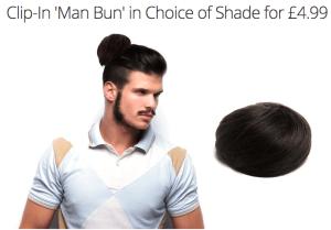Groupon Man Bun