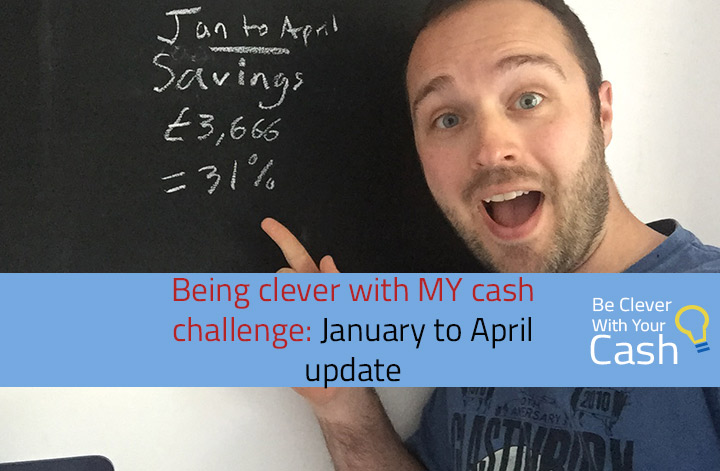 clever with my cash challenge jan to april update
