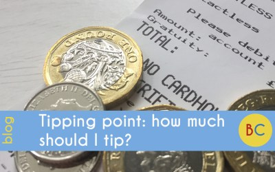 Tipping points: how much should I tip?