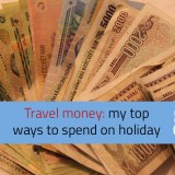 Travel money holiday spend