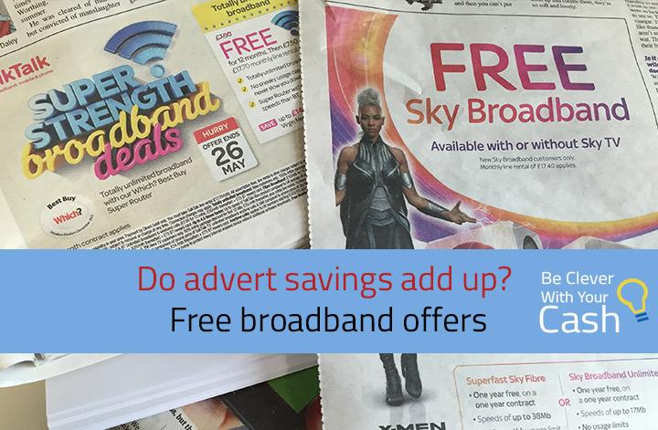 Do free broadband ads add up