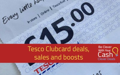 Tesco Clubcard – Double points weekend