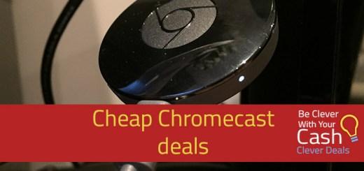 chromecast deals