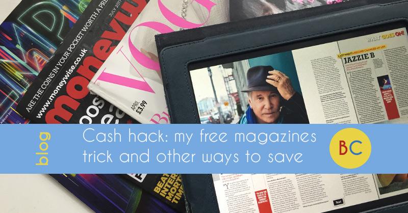 free magazines trick