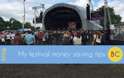 Festival ticket money saving tips