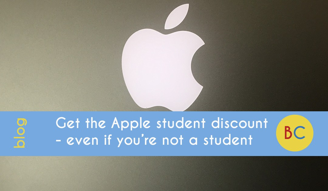 Apple student discount not student