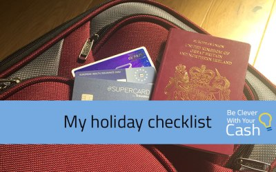 My holiday checklist