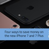 Save money on the new iphone 7