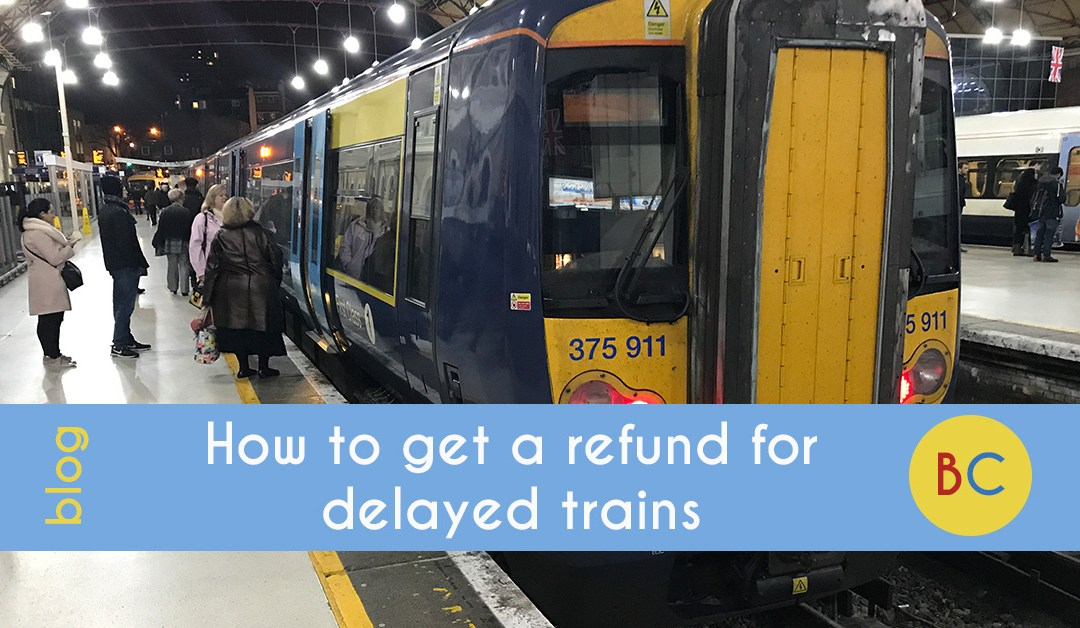 refund for delayed trains