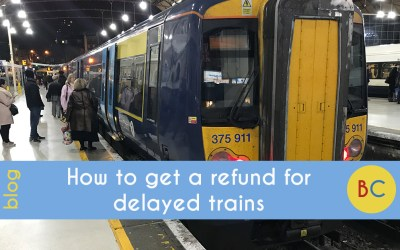 How to get a refund for delayed trains