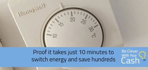 proof it takes just 10 minutes to switch energy and save hundreds of pounds