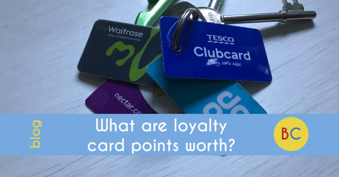 What are loyalty card points worth