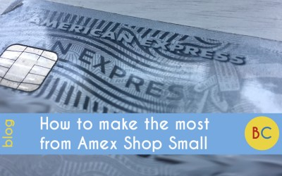 How to make the most from Amex Shop Small 2019