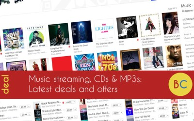 Latest music deals inc 99p for three months Spotify; and more