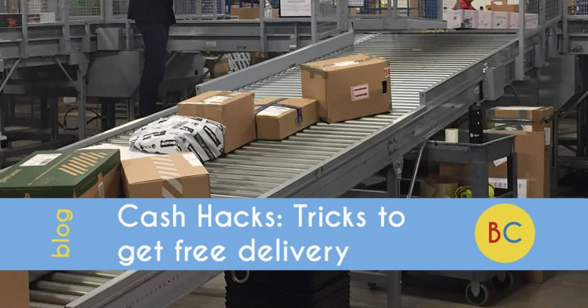 Tricks to get you free delivery