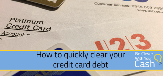 How to quickly clear credit card debt