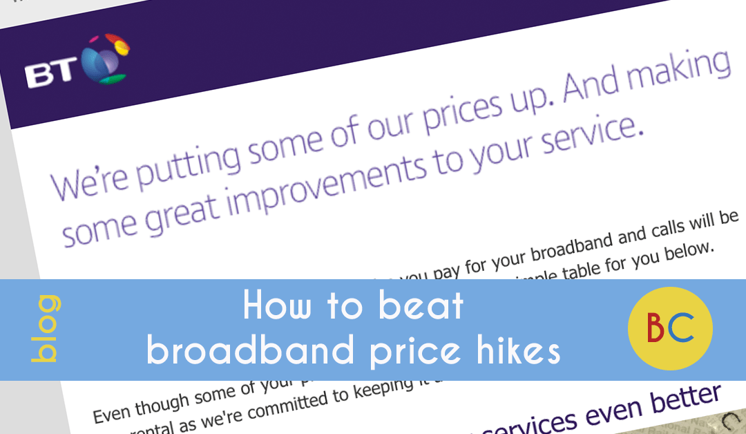How to beat broadband price hikes