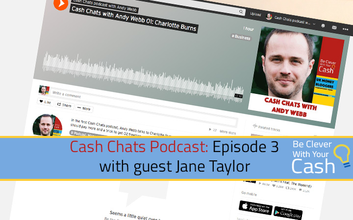 Cash Chats podcast 03 with guest Jane Taylor