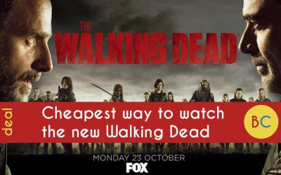 Cheapest ways to watch The Walking Dead season 9