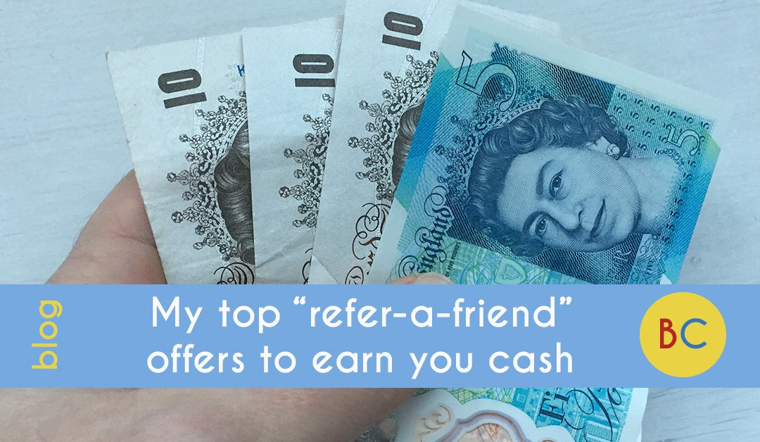 "My top ""refer-a-friend"" offers"
