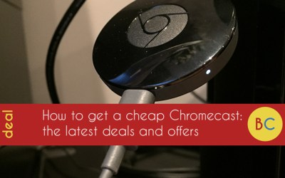 Cheap Chromecast deals: £22 (Save £8) and get three months NOW TV for £5