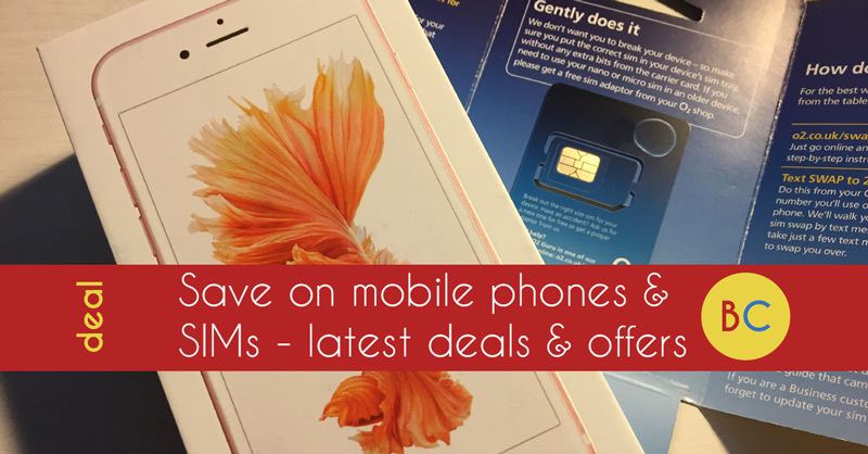 Mobile phone and SIM only deals – Six months free Amazon Prime with EE