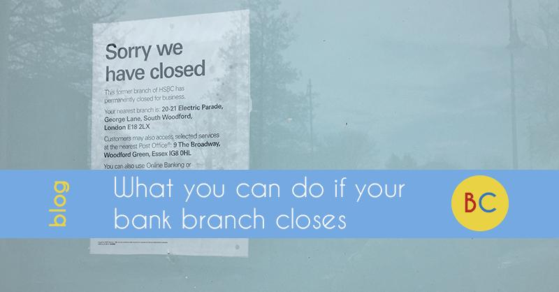 Bank branch closes