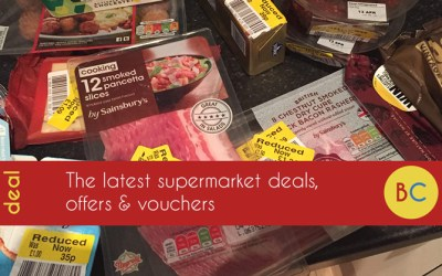 Supermarket deals, offers and vouchers – inc free Ben & Jerry's