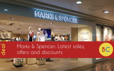 Marks & Spencer 20% off weekend
