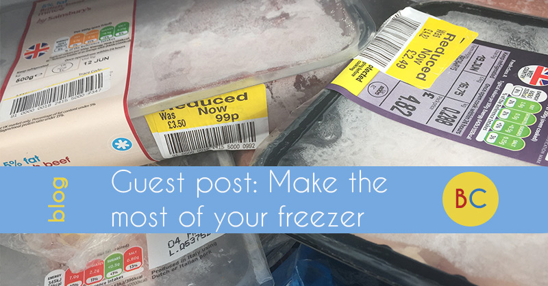 Guest post: Make the most of your freezer