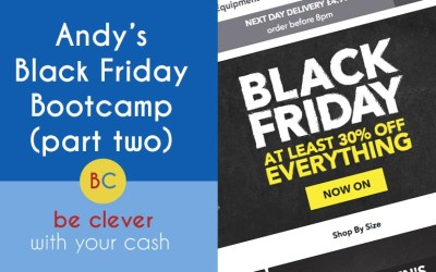 My Black Friday Bootcamp part 2