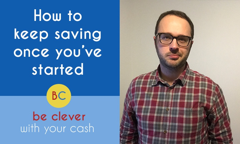 Video: How to keep saving once you've started