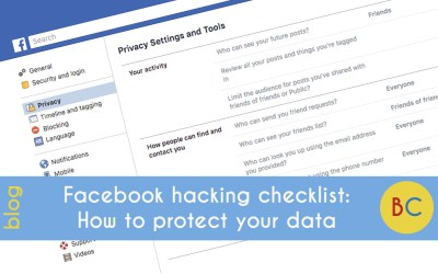 Facebook hacking checklist: how to protect your data