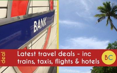 Latest travel deals: inc 20% off Family & Friends railcard