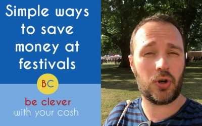Simple ways to save money at festivals