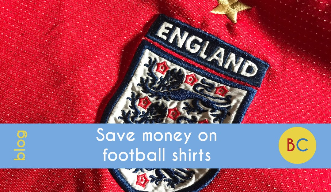 Save money on football shirts