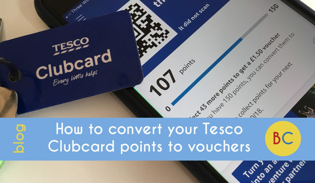 Convert Tesco Clubcard points to vouchers